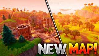 """FORTNITE """"SECRET CITY"""" LOCATION REVEALED! - (Fortnite Battle Royale New City Update)"""