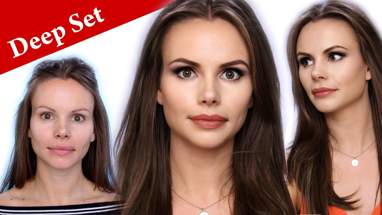 How To Make Deep Set Eyes Look Bigger And Larger Plus The Basic