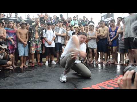 RF JAM 2015 BBOY 2v2 TOP 8 (Day 3)   AGA & THOMAS vs DAVID & FEEL