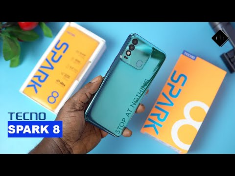 Tecno Spark 8 Unboxing and Review