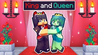The King and Queen Of MONSTER PROM In Minecraft!