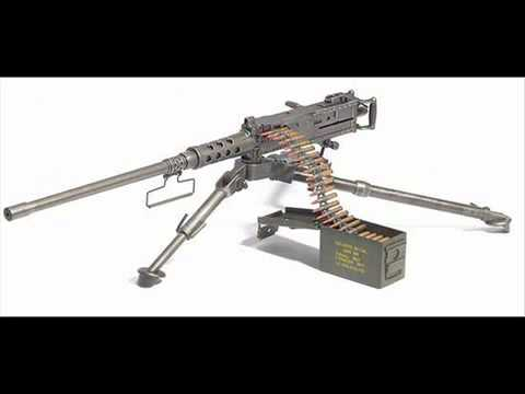 M2 Browning Machine Gun sound effects
