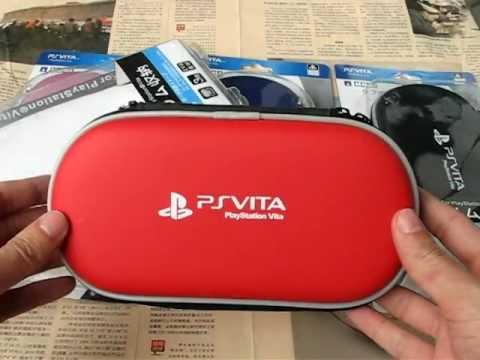 PS Vita Travel Pouch Hands-on By R4Shops