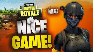 Nice Game | Getaway Win | Fortnite | No Commentary