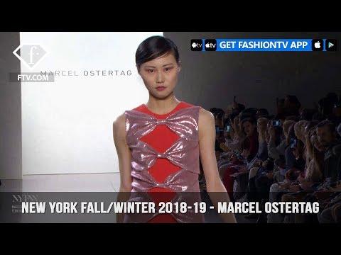 New York Fashion Week Fall/Winter 18 19 - Marcel Ostertag | FashionTV | FTV
