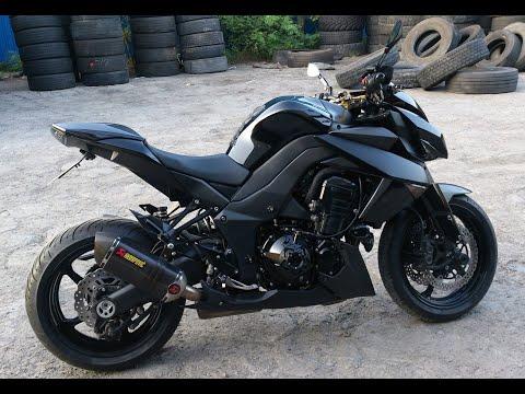 BLACK FURY, My Kawasaki Z1000, Two AKRAPOVIC SOUND