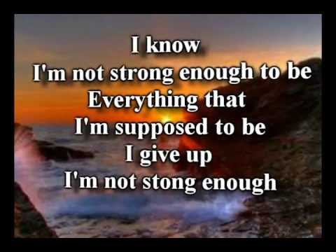 Strong Enough - Matthew West - Worship Video with lyrics