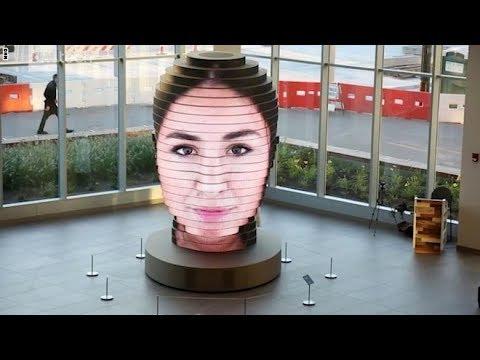 هذه الشاشة تحول صورتك إلى تمثال في متحف  - نشر قبل 4 ساعة