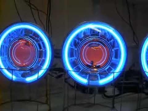 Quad 5 3 4 Quot Round 55 Watt Hid Bi Xenon Projector