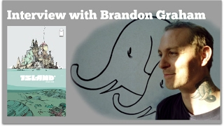 PT1: Interview with Brandon Graham on Prophet, Island, Image Comics and More!
