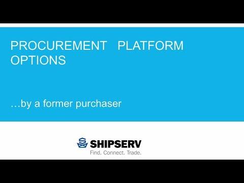 Procurement Platform Options