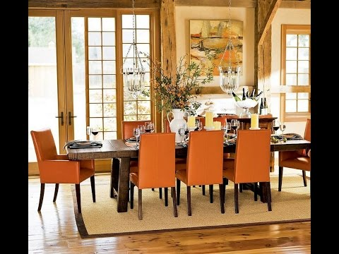 Modern dining room wall decorating ideas