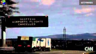 Alert ! Alert ! Ash from Iceland Volcano Eruption  Reaches UK MAYDAY SOS .flv