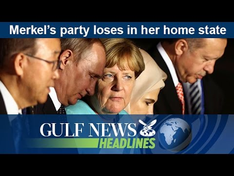Merkel's party loses in her home state - GN Headlines