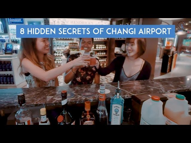8 Hidden Secrets Of Changi Airport
