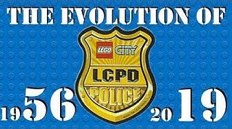 The EVOLUTION of the LEGO CITY POLICE (Including Lego City 2019)