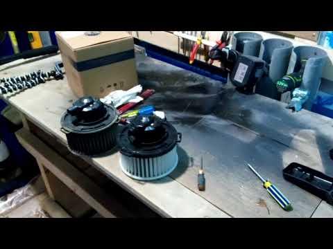 MAZDA 3/ Замена электродвигателя отопителя