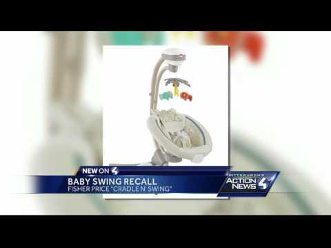 Recall Alert: baby swing recall