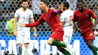 Cristiano Ronaldo schießt 3 Tore gegen Spanien bei der WM 2018 - So wirst auch du zum Champion!