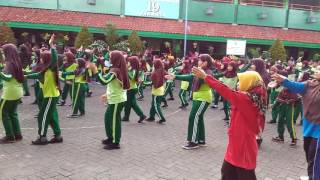Senam Bugar Anak Indonesia MIN 19 Jakarta