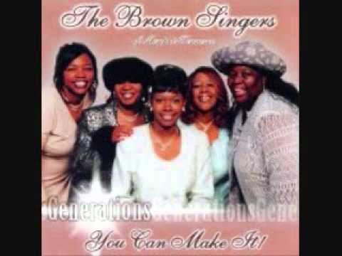 I need you Lord Jesus- Brown Singers