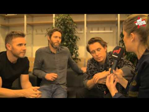 Energy Stars For Free 2015: Interview mit Take That