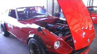 Datsun Vs Ferrari Track Day Line up. David Vs Goliath! Fairlady Z i...