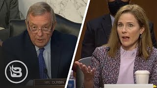 Sen. Durbin Tries to Trap ACB, But Gets Embarrassed When She Has to Explain What Rights Are