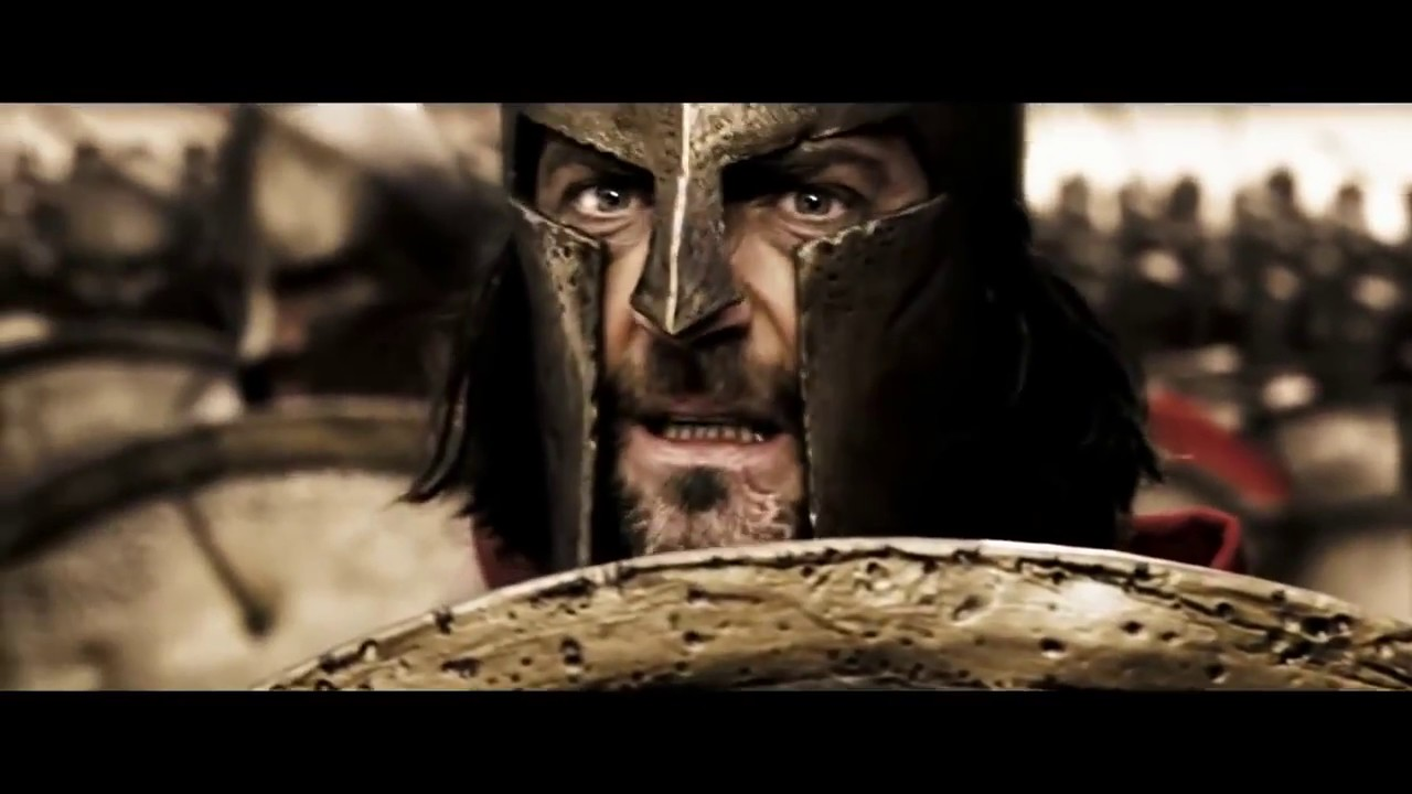 300 Spartans First battle scene part two  YouTube