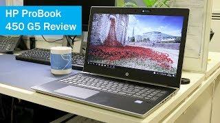 HP ProBook 450 G5 Review (15.6