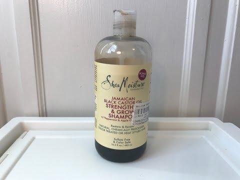 Shea Moisture | BEST HAIR GROWTH - Jamaican Black Castor Oil Line [Review + Demo]