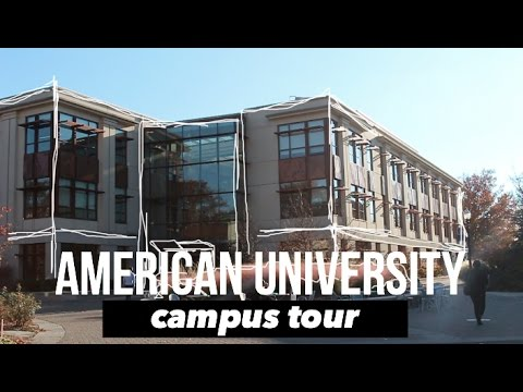 American University Campus & Dorm Tour | Nomi Baby