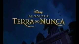 De volta a terra do nunca - Trailer de cinema