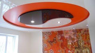 Какие мы можем установить круглые натяжные потолки?