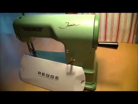 Elna Junior Sewing Machine Part 40 Repair Story YouTube Awesome Elna Junior Sewing Machine