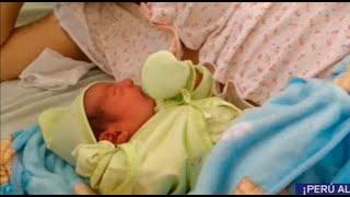 Bebé nació durante partido de Perú y lo llamaron Jefferson Paolo