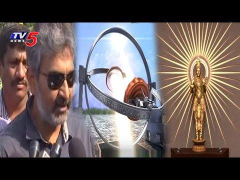 Amaravati Designs | Rajamouli's Concept of Telugu Thalli Statue In AP Assembly | TV5 News