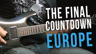 Europe - The Final Countdown (Parte 1/2) - Como Tocar no TVCIFRAS (Farofa)