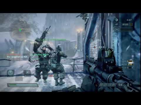 76 KILLS | Killzone 3 Multiplayer Operations Frozen Dam | Game 2