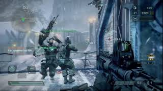 76 KILLS | Killzone 3 Multiplayer Operations Frozen Dam | Game 2