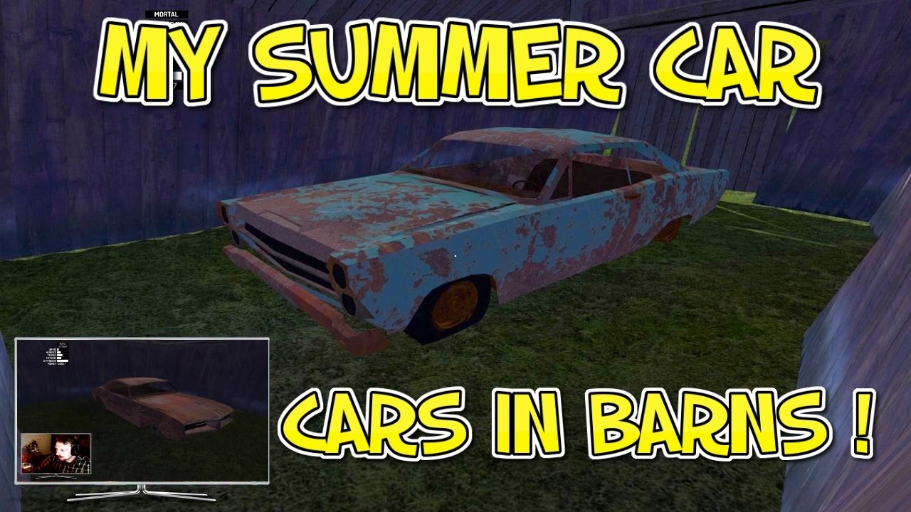 My Summer Car - Finding Hidden Cars in Barns ! - YouTube