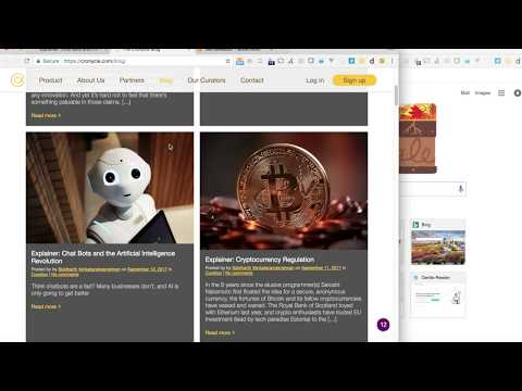 Gentle Reader Browser Extension Demo