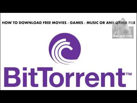 How To Download Free Movies, Games and Music