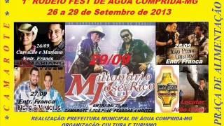 RODEIO FEST   ÁGUA COMPRIDA 2013