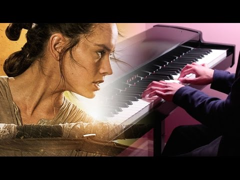 Star Wars: The Force Awakens - Rey's Theme - Piano