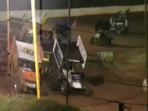 Tommy Johnson @ 105 speedway Feature Race