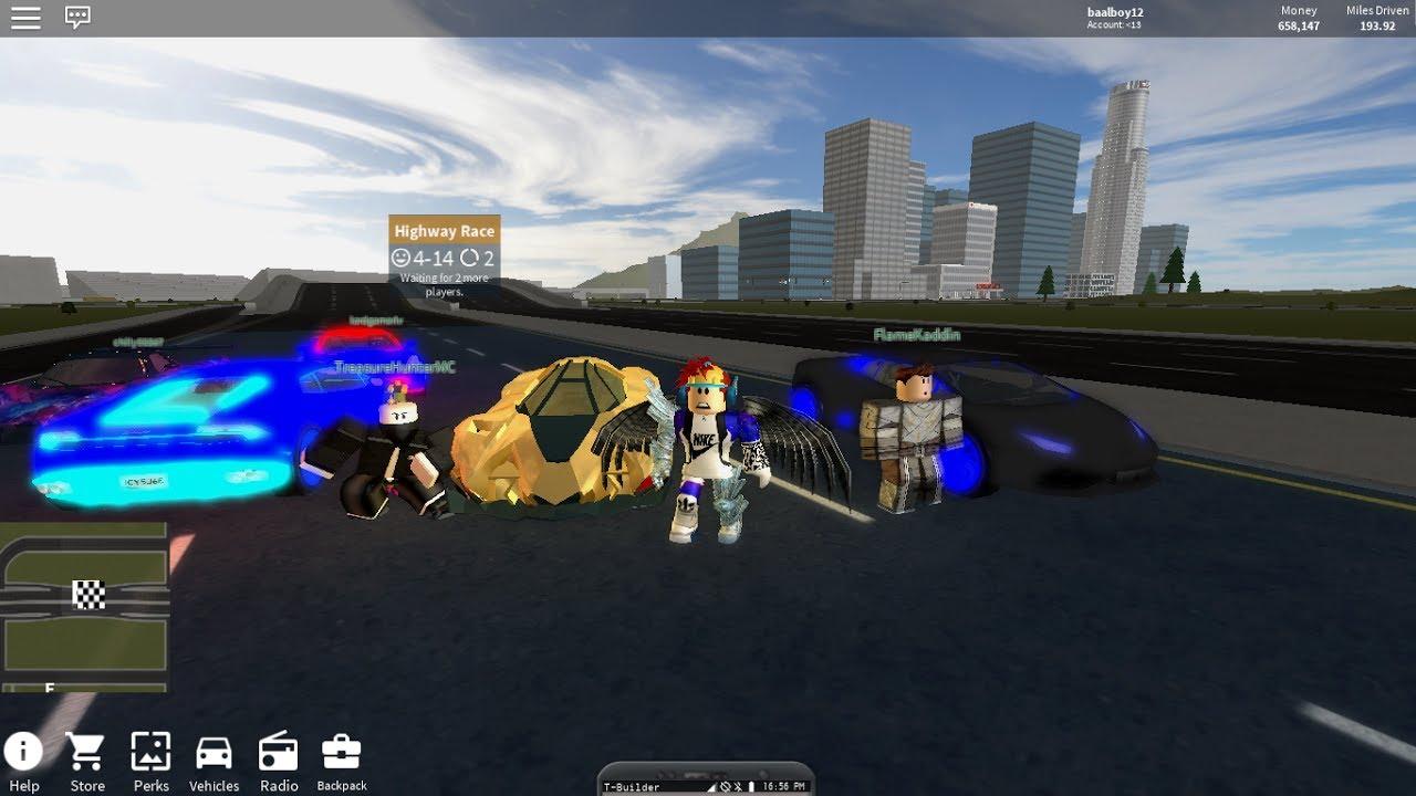 My Friend Let Me Drive His Lamborghini Egoista Vehicle Simulator Roblox Youtube