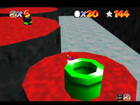 Super Mario 64: Shining Stars Walkthrough - S-40: Coins in the Solar Fortress