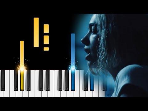 Silk City, Dua Lipa - Electricity - Piano Tutorial