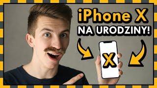 DOSTAŁEM iPhone X na urodziny! ◉_◉ Nie zgadniesz od kogo!